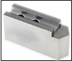 Soft Chuck Jaws - Flat and Pointed - available in Serrated, Tongue & Groove, Northfield Style - Aluminum and Steel
